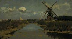 Johan Hendrik Weissenbruch - Near Dordrecht