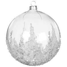 Disney Christmas Decorations, Diy Christmas Ornaments, Christmas Balls, Handmade Christmas, Xmas Baubles, Craft Decorations, Christmas Skirt, Christmas Ideas, Clear Plastic Ornaments