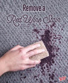 Try this simple and effective solution to remove red wine stains so that you can spend more time celebrating and less time on the mess.