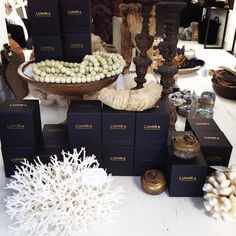 Our range of luxury LUMIRA scented soy candles. We have Tuscan Fig, Oriental Jasmin, Tropical Gardenia, Persian Rose, Sicilian Citrus, Tahitian Coconut, Cuban Tobacco, Balinese Ylang Ylang and Leather & Cedar. 427, Darling Street, Balmain, 2041 Website: www.lumuinteriors.com Email: hello@lumuinteiors.com Phone: 0427 427 752