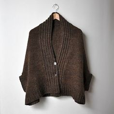ravelry: bouillesdecoton's inversion cardigan Inversion Cardigan by Jared Flood ($8)