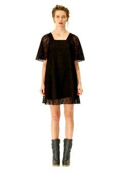 Adelea black dress. Shop: http://shop.ivanahelsinki.com/collections/moomin-by-ivana-helsinki/products/adelea