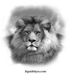 Awesome Lion Head Tattoos Design