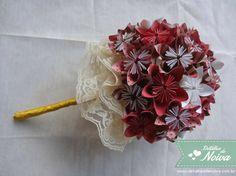 pap bouquet de origami