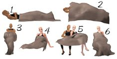 """THIS IS FOR SIMS 2.    3t2 Nova """"Mantas"""" for couples.  I saw these and almost dropped to the ground. I've been searching for something like them for a VERY long time. So, I converted them to Sims 2."""