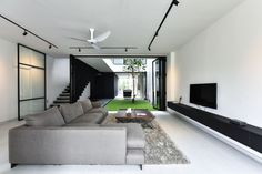 Edmund Ng Architects Architecture Courtyard, Courtyard Design, Skylight, Facade, Indoor, Interior, Modern, House, Architects