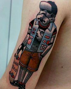 stormtrooper star wars tattoo-41