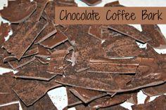 Chocolate Coffee Bark Recipe