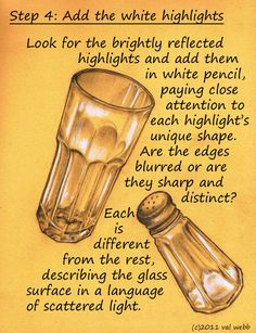 Tutorial: Drawing reflections on glass.