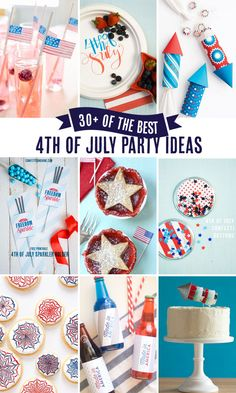 over 30 of the Best 4th of July Party Ideas!