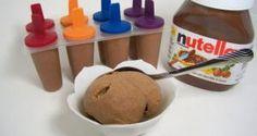 Cómo hacer helados de nutella