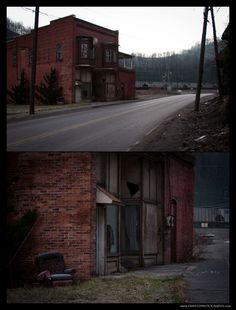 Abandoned Business in Keystone WV Photograph