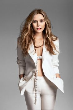 Elizabeth Olsen for Marie Claire May 2014