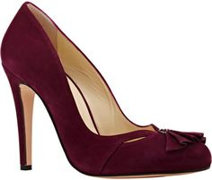 Sarah Flint Ingrid Pumps in Purple (WINE) | Lyst