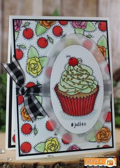 Love this set! :) Here are the ingredients for this one!) Gina K. Design: *Stamp Set - Sweet Thing by: Claire Brennan *Pure Luxury Card Stock - White Heavy B… Spectrum Noir Markers, Luxury Card, Birthday Woman, Card Stock, Birthday Cards, Card Making, Pure Products, Creative, Sweet