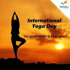‪#‎Yoga‬ is not just weight-loss program, it is a science to make you feel lighter. You lose mental stuff of anger, jealousy, hatred, greed, etc. ‪#‎RamkyGroup‬ Wishing everyone to start your day with yoga every day.