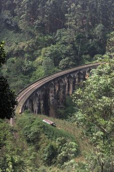 We spent 20 days in Sri Lanka, the second part of our trip was from Ella to Tissamaharama. I'd recommend to take a day or two to hang out in Ella, it's small but worth it. This is our view on the Nine Arch Bridge (you can walk there via the train tracks).