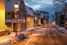 Marblehead, Massachusetts (winter).