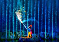 Disney - Fantasmic - The Brave Little Tailor by Express Monorail, via Flickr