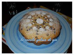 torta stracciatella con ricotta e gocce di cioccolato