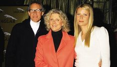 Gwyneth with her late father Bruce and mother Blythe Danner in 2002    Read more: http://www.dailymail.co.uk/tvshowbiz/article-2294483/Gwyneth-Paltrow-speaks-devastating-miscarriage-longs-child.html#ixzz2No1bj2LD  Follow us: @MailOnline on Twitter | DailyMail on Facebook