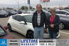 Congratulations to Randal Martin on your #Honda #CR-Z purchase from Richard Magnotti at Honda of Denton! #NewCar