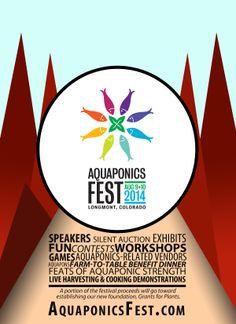 #aquaponics #festival summer 2014  http://theaquaponicsource.com/aquaponics-fest-2014/