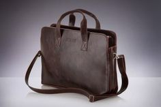 Elegant bag made of ecological leather - original shape that distinguishes it from other ones