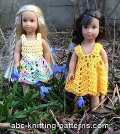 American Girl Doll Mini Sundress, Skirt and Top Summer Set
