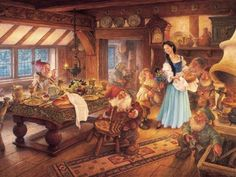 Family Puzzles Snow White and the Seven Dwarves