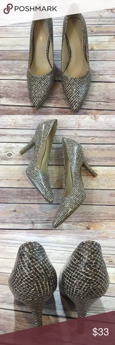 """Nine West Pointy Heels Nine West Pointy Heels. EUC. Worn once or twice only. Size 8.5. Heel height 4"""" Nine West Shoes Heels"""