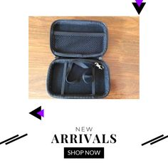 External hard drive carry case for inch Hard Drive/GPS, black sturdy This product is black, sturdy for GPS, hard drive or other products, zip sturdy Leather Products, Usb Drive, Carry On, Journey, Store, Check, Bags, Handbags, Usb Flash Drive