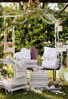 Patio and garden loveliness