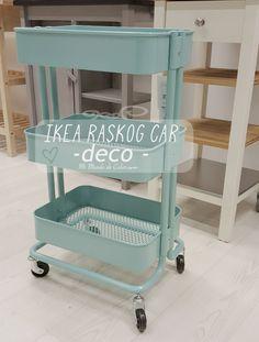 INSPIRACION   DECORAR CON EL CARRITO RASKOG DE IKEA Office Organization, Kitchen Cart, Home Decor, World, Ikea Furniture, School Supplies, Quartos, Home, Colors