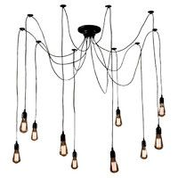 Cora 10 Light Cluster Chandelier