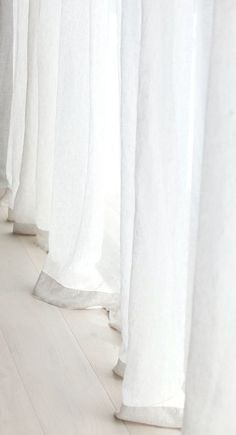 White Bedroom, Curtains, Blinds, Draping, White Bedrooms, Picture Window Treatments, Window Treatments