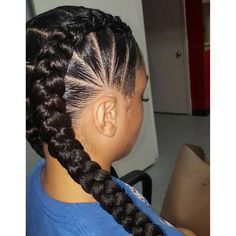 the stitch braid styles are a great choice. Here are 46 gorgeous ghana stitch braids styles ponytail for African American women to consider for your next protective style. Two Cornrow Braids, Long Braids, Fishtail Braids, Plaits, Cornrows, Weave Curls, Braids With Weave, Best Ombre Hair, Ombre Hair Color