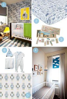 Nest with the Best: Modern Boy Nurseries | Petunia Pickle Bottom Blog