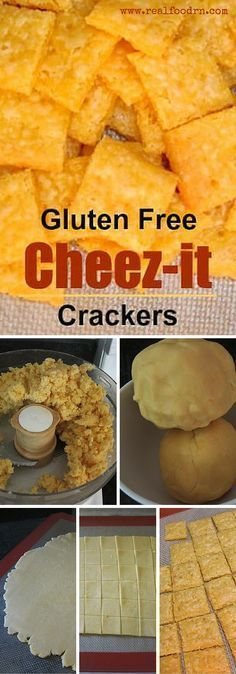 Gluten Free Cheez-it Crackers. Betcha can't have just one! No seriously, these are one of our new favorite snacks, I practically have to hide them from my kids. Plus, no MSG or gluten! http://realfoodrn.com #cheezit #glutenfree