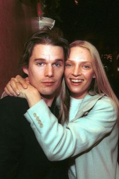 Ethan Hawke and Uma Thurman dominated Hollywood from 1997 until 2003 — relive their years of glorious coupledom here. Famous Couples, Hot Couples, Celebrity Couples, Emily Ratajkowski, Doctor Who, Melania Trump, Spitting Image, Ethan Hawke, Star Wars