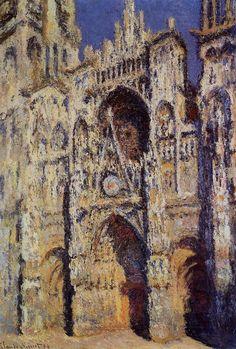 Claude Monet's Rouen Cathedral Series