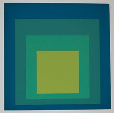 Josef Albers. Homage To The Square: Solstice, 1959