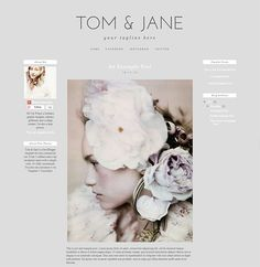 free simple and clean beautiful blogger template