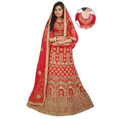 Women's Clothing Other Women's Clothing Bollywood Style Silk Designer Party Wedding Semi Stitched Women Lehenga Choli Pure And Mild Flavor