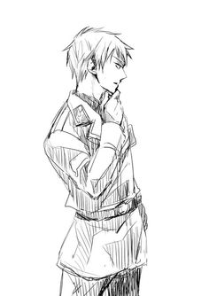 Hetalia- Prussia. Finally met him in the series! And...we'll see what all this talk is about him ;P