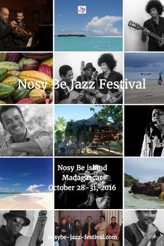 Get to know our great musicians who will make NosyBe Jazz Festival in the beautiful island of #NosyBé, #Madagascar on 10/28-31. Join them there !