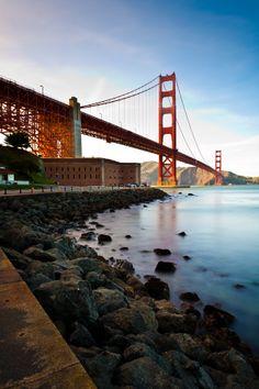 Golden Gate Bridge from Fort Point, San Francisco, CA