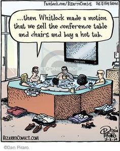The Hot Tub Comics And Cartoons | The Cartoonist Group