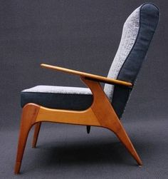 Fred Lowen; #SC55 Armchair for Fler, 1955.