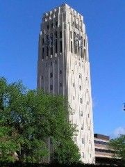 The Charles Baird Carillon, third heaviest in the world, contains 55 bells, weighing from 21 lbs. to 12 tons. 881 N. University Ave. Ann Arbor, MI, USA